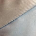 Blauer Streifenstoff 100% Baumwolle; helle und dunkle Seite