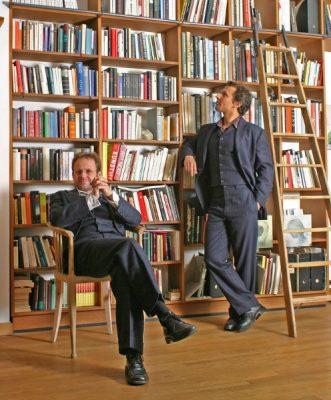 Samuel und Florian Foto: Lothar Reichel
