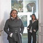 Sissi und Lisa Foto: Lothar Reichel