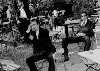 Volker, Udo, Inigo und Christoph. Plantation. 1996 Foto:Lothar Reichel