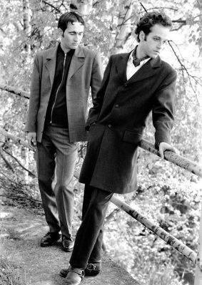 Thomas und Jochen.1991. Foto:Lothar Reichel