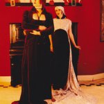 Sissi und Lisa.1991. Foto: